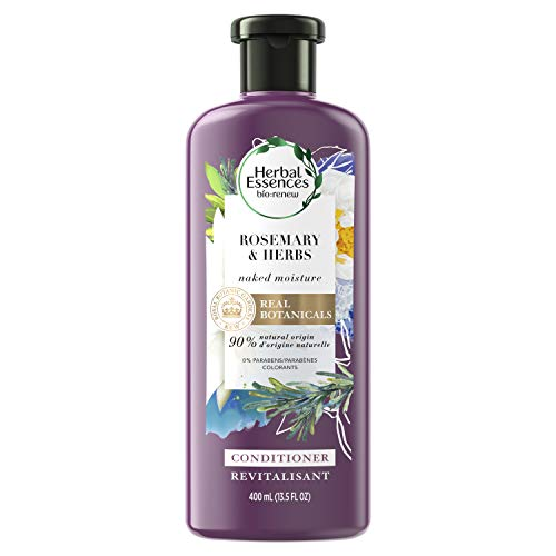 - Herbal Essences Biorenew Rosemary & Herbs Naked Moisture Conditioner, 13.5 FL OZ