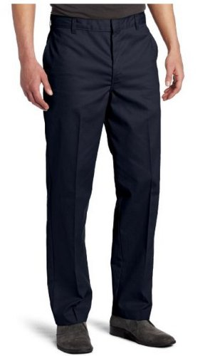 Dickies Men's Young Adult Sized Flat Front Pant, Dark Navy, 30X34