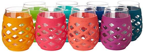Ello 8-Piece Silicone Glassware Set ()