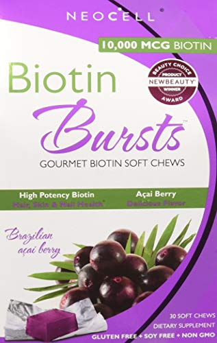 - NeoCell - Biotin Burst - Brazilian Acai Berry - 30 Chews