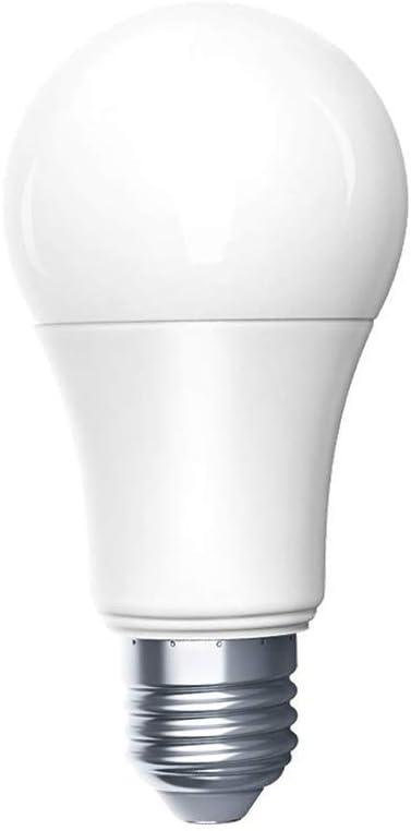 Aqara Bombilla LED Esférica Regulable e Inteligente, Bombillas de bajo consumo con Control remoto de la aplicación, Control de voz Siri, para Mijia Homekit[Clase de eficiencia energética A]