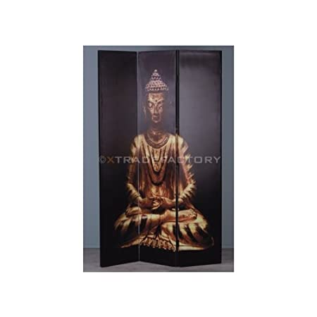 ROOM DIVIDER PARTITON BUDDHA folding screen paravent Amazoncouk