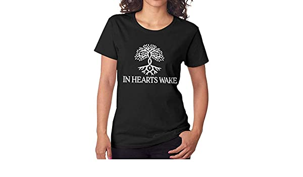 Nanadang Chris Stapleton Womens Short Sleeve Summer Fashion Round Neck Tees Simple Black