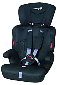 Safety 1st Ever Safe, Autoasiento Booster con Arnés de Seguridad, Color Negro