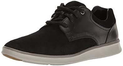 UGG Men's Hepner Fashion Sneaker, Black, 7 M US