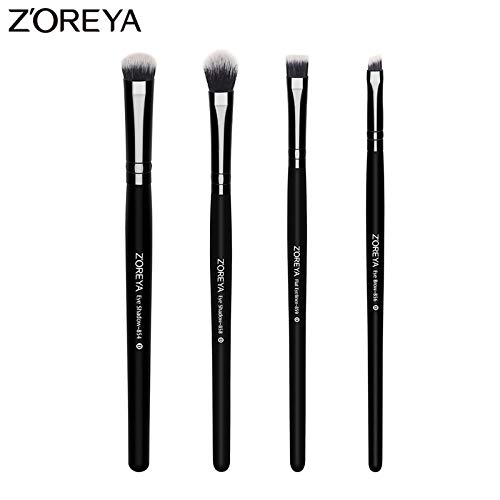 Best Quality - Eye Shadow Applicator - Brand 4 piece/lots Lady Makeup Eye Shadow brush Eyeliner make up brush for beauty cosmetics tools with Eye brow brush - by Chipsua@ - 1 PCs