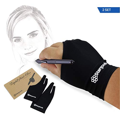Digital Artist Glove for Graphic Drawing Tablet, Anti Foulin