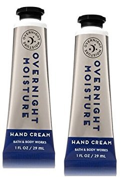 Bath and Body Works 2 Pack Overnight Moisture Hand Cream 1 Oz. by Bath & Body Works