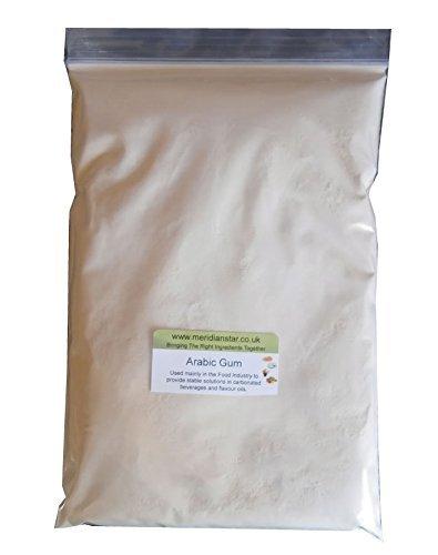 Arabische Gum Pulver 1 Kg Amazon De Kuche Haushalt