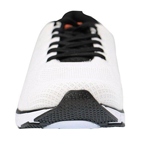 Boras - Zapatillas para hombre blanco negro/blanco