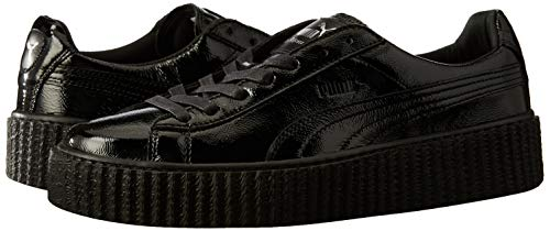 Puma Zapatillas Wrinkled Patent Black Deportivas Creeper r40wqpr