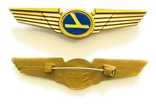 Aviator Kids Pilot Vintage Eastern Wings Plastic Pins Lot of 2