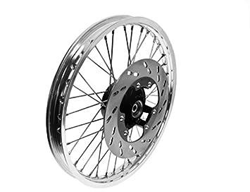 Rueda Completo freno ETZ 125 150 250 251 aluminio - Acero inoxidable: Amazon.es: Coche y moto