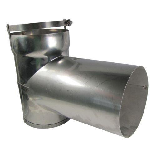 (DuraVent 3DFS-T Stainless Steel DuraFlex SS 3 InchDuraFlex Tee From the DuraFlex SS Series)