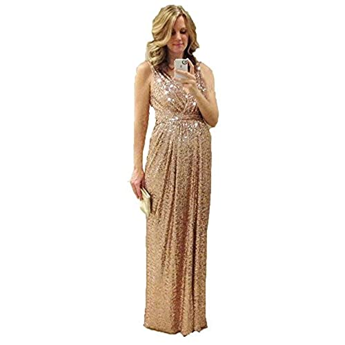 Rose Gold Bridesmaid Dress: Amazon.com