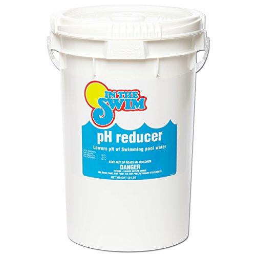 - In The Swim Swimming Pool pH Reducer, 50lb Powder Formulation