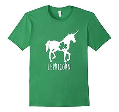 Lepricorn Funny St. Patrick's Day Shirt, Unicorn Leprechaun