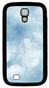 Samsung Galaxy S4 I9500 Cases & Covers - Clouds Texture Custom TPU Soft Case Cover Protector for Samsung Galaxy S4 I9500 - Black