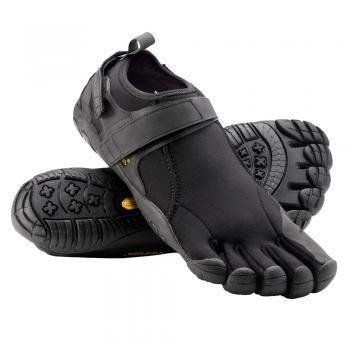 wholesale dealer 8cc7e 3aecd Vibram Five Fingers Mens Flow Trek Black Black Black Trainer M238-41eu  7.5UK  Amazon.co.uk  Shoes   Bags
