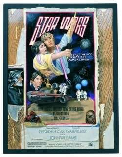 Star Wars A New Hope Style D Sculpted (Sculpted Poster)