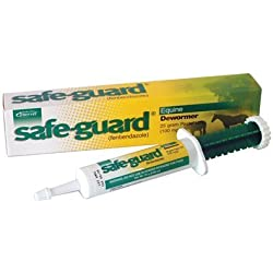 Intervet Safeguard Dewormer Paste for Horses, 25 gm