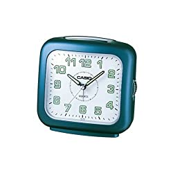 Casio Blue Alarm Clock Travel Desk Clock TQ359-2D