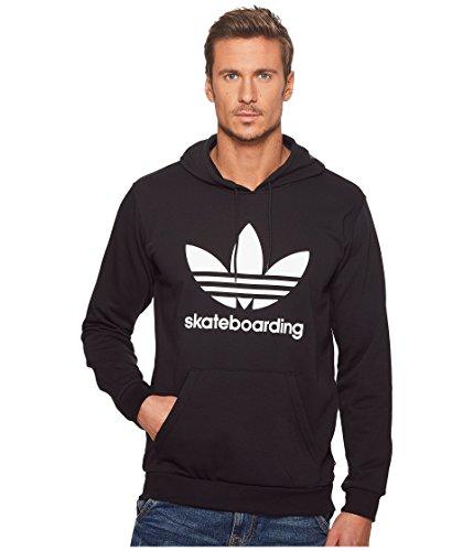 adidas Skateboarding Men's Clima 3.0 Hoodie Black/White 3 X-Large