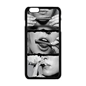 Generic Cell Phone Case For Iphone 6 Plus case 5.5 inch Country American Flag Marijuana Cannabis Weed Hemp Leaf Smoker Design Custom made Hard Plastic Protective shell