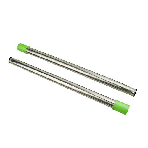 Extendable Stainless Steel Extension Pole 2 Sections, Each Extension Pole is 16 inch.