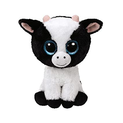 TY Beanie Boo Butter - Cow Reg Plush