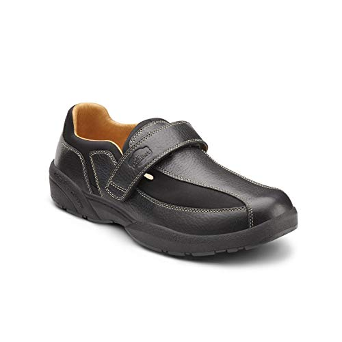 Dr. Comfort Douglas Men's Therapeutic Diabetic Extra Depth Shoe: Black 11 Wide (E/2E)