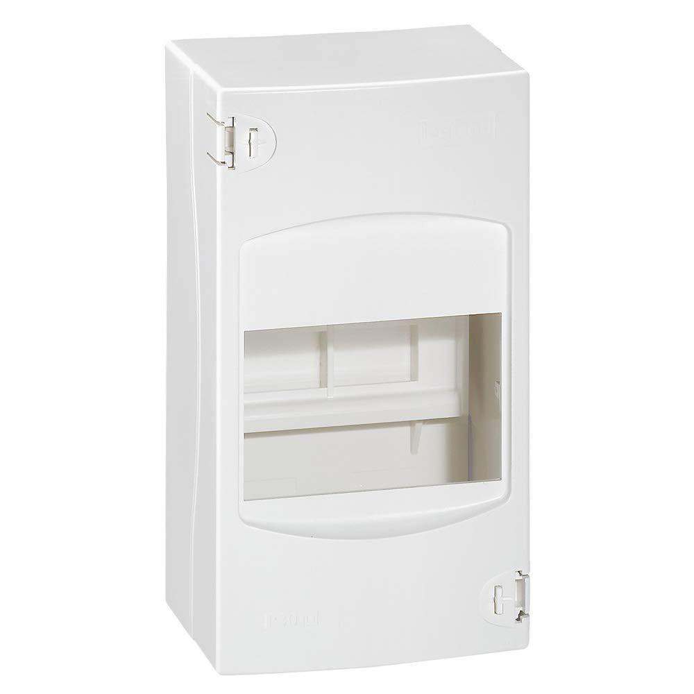 Legrand cajas modulares din - Caja 1 fila de 4 módulos: Amazon.es: Industria, empresas y ciencia