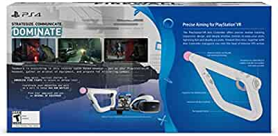 Amazon com: PSVR Aim Controller Firewall Zero Hour Bundle