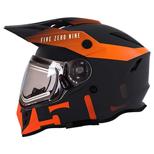 509 Delta R3 2.0 Full Face Snow Helmet with Fidlock (Orange - X-Large)