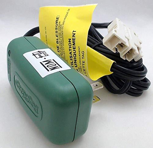 Peg Perego Genuine OEM 6-Volt Battery Charger, MECB0085U (6 Volt Peg Perego Battery Charger)