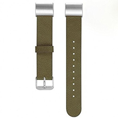 NewKelly Watchband for Fitbit Charge 2, Leather Bracelet Strap Band - Tom Expansion Pack