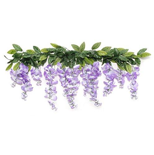 "RetailSource Spring Floral 36"" Artificial Lavender Wister..."
