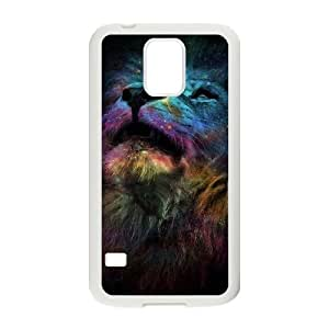 Lion ZLB553381 Personalized Phone Case for SamSung Galaxy S5 I9600, SamSung Galaxy S5 I9600 Case by Maris's Diary