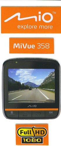 Mio MiVue 358 (16GB) HD DVR truck car video camera recorder drive cam high quality dash cam