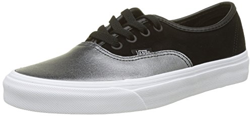 Vans Authentic Seasonal Leather, Zapatillas para Mujer Varios Colores (2tone Metallic/ Black/True White)