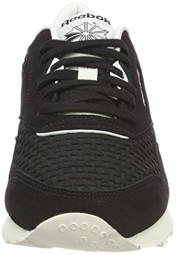 free shipping many kinds of Reebok Women's Classic Nylon Mesh Trainers Black (Black/Chalk/Primal Red) hot sale sale online free shipping low cost ebay for sale cheap sale official I3a1SD9IL