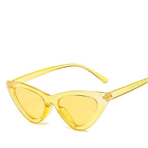 marco sol triángulo de moda de de mar señora a10 Aoligei hombre Gafas gafas tendencia gafas sol sol TXI6Rq