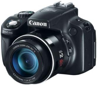 Canon PowerShot SX50 HS - Cámara compacta de 12.1 Mp (pantalla de ...