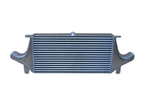 Autobahn88 Universal Front-Mount Intercooler FMIC, GTR-Type, Core Size 610x300x100mm (24.5x12x4), Inlet Outlet 80mm ()