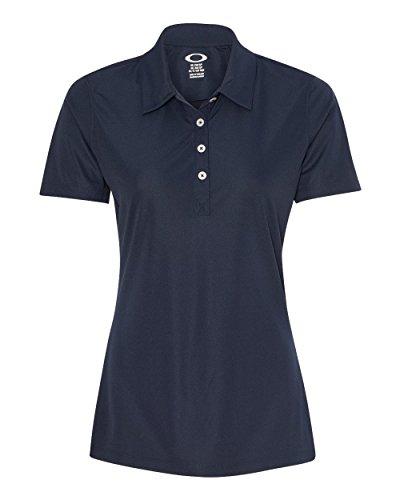 Oakley Women's Basic Polo, Navy Blue, - Oakleys Golf