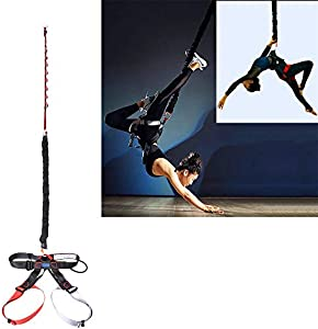 DASKING Heavy Bungee Cord Resistance Belt for Home Gym Yoga Bungee Rope Gravity Bungee 4D Training Pro Tool Ideal for Home Gym Studio Weight Class -1