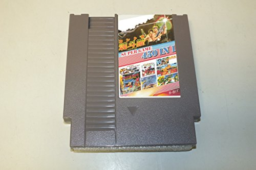 450 in 1 NES Nintendo Game Cartridge 1942, Adventure Island, Contra, Super Mario (gray cartridge) (Nes Super 3 Mario)