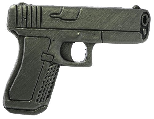 US Military Issue Miniature Replica Glock Hat or Lapel Pin H15714D63 (Army National Guard Jewelry)