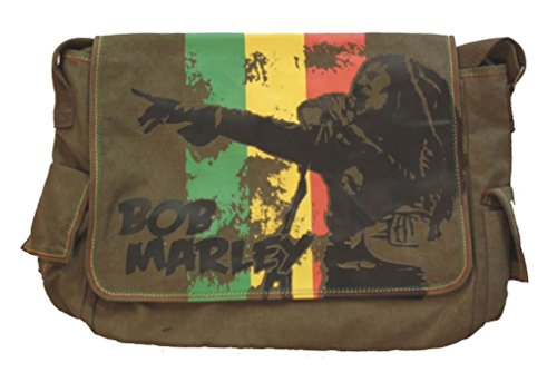 Bob Marley Marley Messenger Bag Green