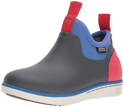 Bogs Unisex-Kids Riley Snow Boot Dark Gray Multi